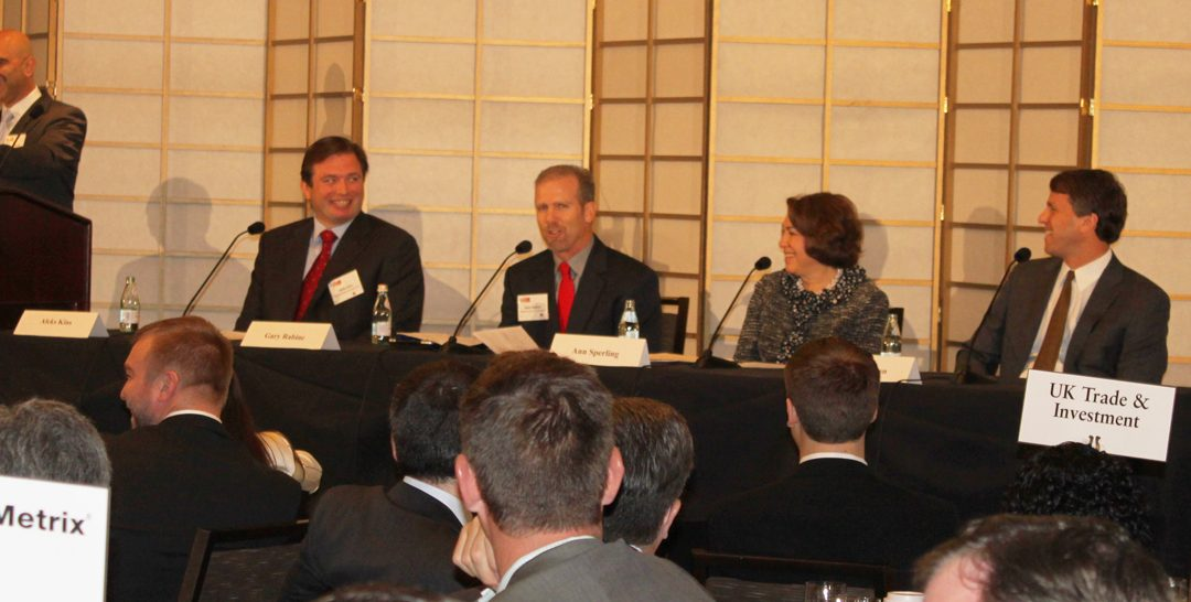 Gary Rabine, founder of Rabine Paving, speaks on a Panel for Crain's Chicago Fast Fifty