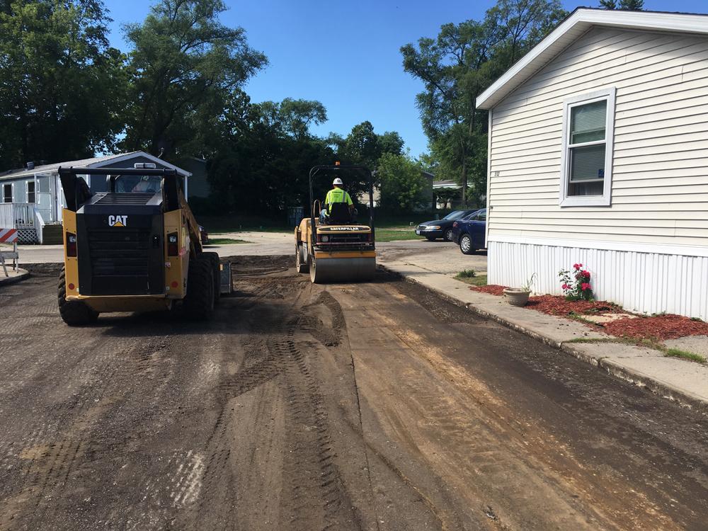 Remove replace asphalt zeman 2