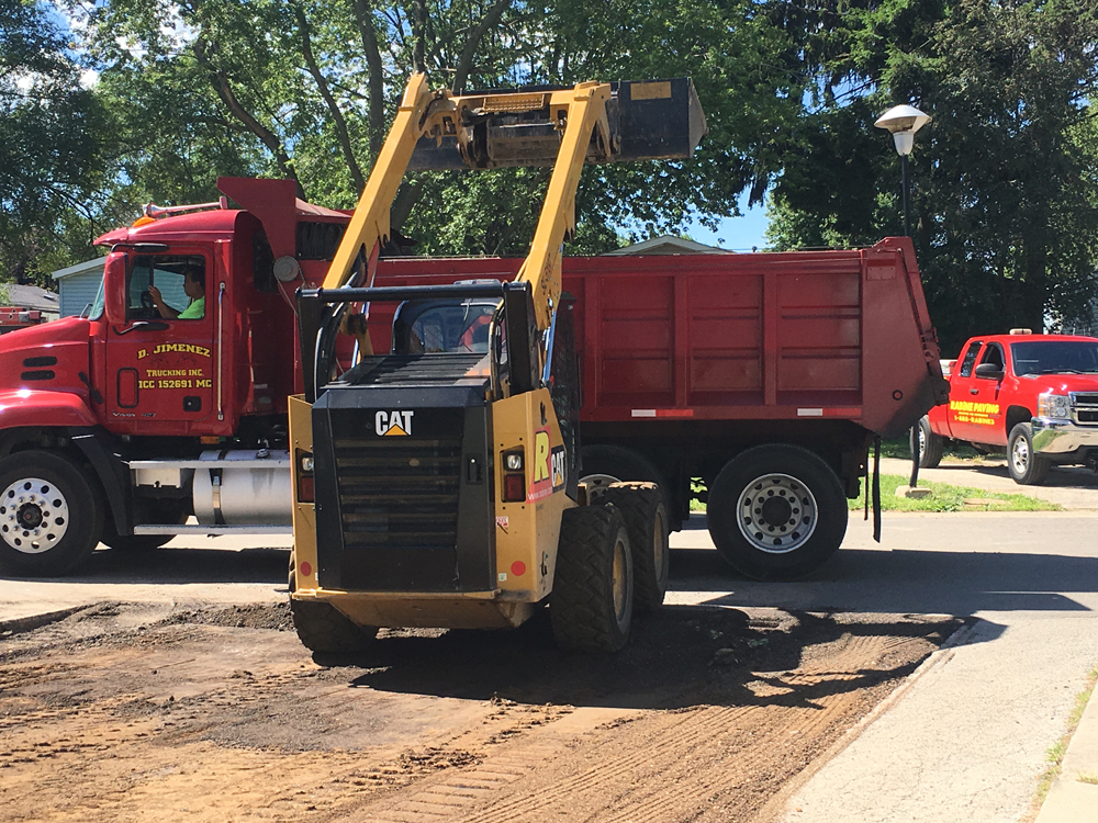 Remove and Replace Asphalt Parking Lot for Real Estate Company