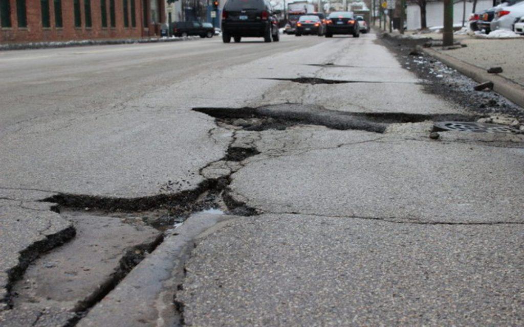 Chicago Pothole Season isn't a joke