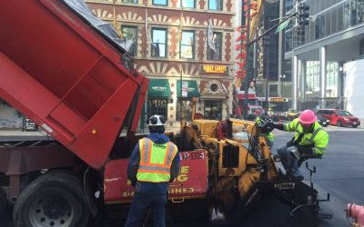 Chicago Rabine Paving Foreman is Interviewed by Gary Rabine