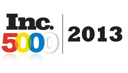 Inc 5000 2013 Award Logo